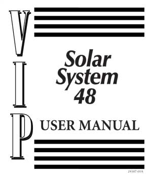 download the sundome 548 and solar system 48 and vip 48 manual here